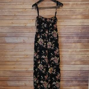 Xhilaration Floral Overall Jumpsuit